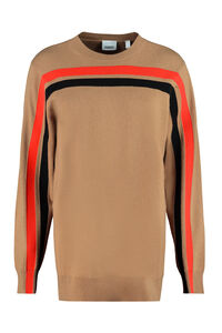 Cashmere blend pullover, Crew neck sweaters Burberry woman