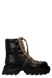 Leather lace-up boots, Lace-up boots Off-White man
