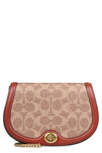 Canvas and leather belt bag, Beltbag Coach woman