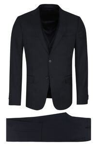 Three-piece wool suit, Suits Z Zegna man