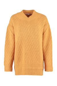Alpaca blend sweater, V neck sweaters Stella McCartney woman