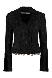Cotton blend tweed jacket, Casual Jackets Alexander Wang woman