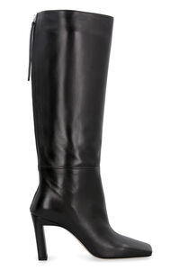 Isa leather boots, Knee-high Boots Wandler woman