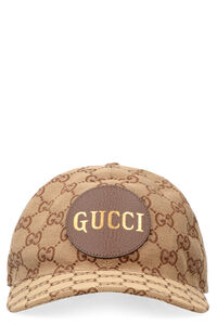 All over logo baseball cap, Hats Gucci man