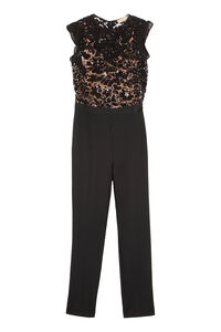 Sequin lace top jumpsuit, Full Length jumpsuits MICHAEL MICHAEL KORS woman