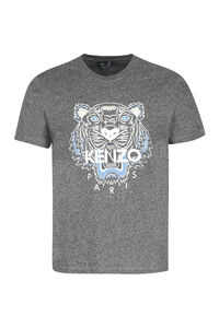 Tiger cotton t-shirt, Short sleeve t-shirts Kenzo man
