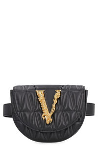 Quilted leather belt bag, Beltbag Versace woman