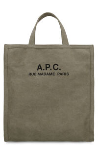 Recovery canvas tote bag, Totes A.P.C. man