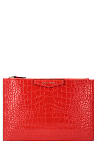 Antigona leather clutch, Clutch Givenchy woman