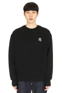 Cotton crew-neck sweatshirt, Sweatshirts AMI man