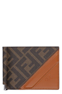 Coated canvas wallet, Wallets Fendi man
