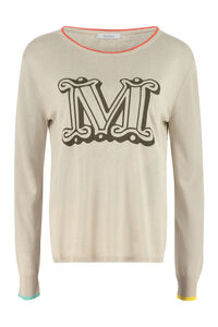 Satrapo light jersey pullover, Crew neck sweaters Max Mara woman