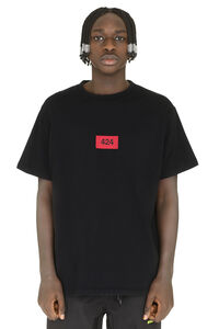 Crew-neck cotton T-shirt, Short sleeve t-shirts 424 man