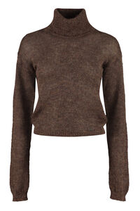Mohair blend turtleneck sweater, Turtleneck sweaters Dsquared2 woman