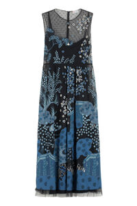 Embroidered tulle dress, Maxi dresses Red Valentino woman