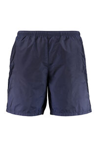 Metal nylon swim shorts, Swimwear Prada man