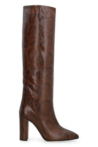 Leather knee-boots, Knee-high Boots Paris Texas woman