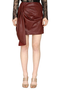 Faux leather mini skirt, Mini skirts Self-Portrait woman