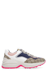Rhyton GG leather low-top sneakers, Low Top sneakers Gucci woman