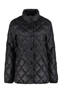 Snap button fastening down jacket, Down Jackets Burberry woman
