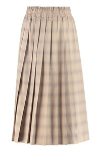 Check pleated skirt, Pleated skirts Baum und Pferdgarten woman