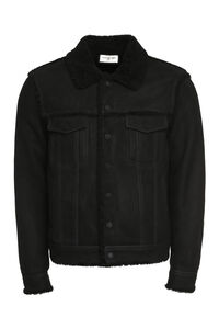 Short sheepskin jacket, Shearling coats Saint Laurent man