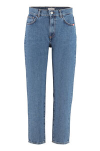 Lizzie slouchy jeans, Straight Leg Jeans Amish woman