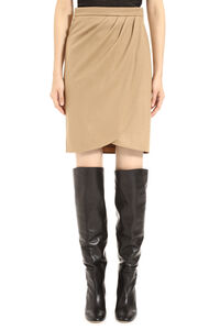 Wool wrap skirt, Wrap skirts Max Mara woman