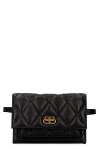 Sharp quilted leather belt bag, Beltbag Balenciaga woman