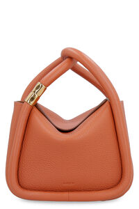 Wonton 20 leather handbag, Top handle BOYY woman