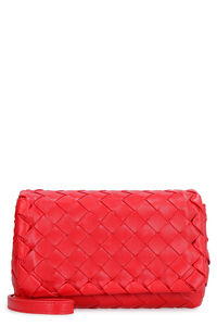 Leather mini crossbody bag, Shoulderbag Bottega Veneta woman