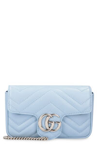 GG Marmont leather mini-bag, Clutch Gucci woman