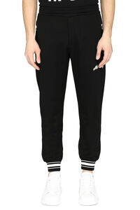 Techno fabric track pants, Track Pants Alexander McQueen man