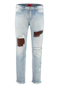 Distressed slim fit Jeans, Slim jeans 424 man