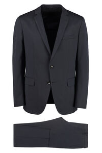 Stretch cotton two piece suit, Suits BOSS man