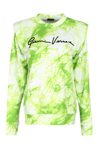 Cotton crew-neck sweatshirt, Sweatshirts Versace woman