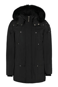 Stirling padded parka with fur-trim hood, Parkas Moose Knuckles man