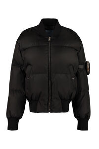 Padded bomber jacket, Bomber Prada woman