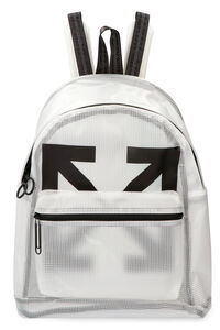 Logo detail PVC backpack, Backpack Off-White man