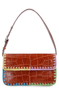Tommy leather shoulder bag, Top handle STAUD woman