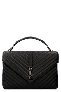 Quilted leather bag, Top handle Saint Laurent woman