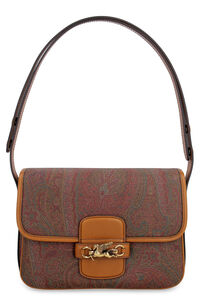 Pegaso coated canvas shoulder bag, Shoulderbag Etro woman