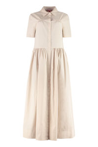 Giulia cotton long dress, Maxi dresses STAUD woman