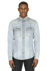 Long-sleeve denim shirt, Denim Shirts Givenchy man
