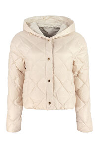 Reversible hooded down jacket, Down Jackets Max Mara The Cube woman