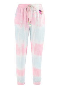 Santinella stretch cotton track-pants, Track Pants LoveShackFancy woman