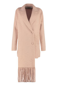 Double-breasted knit jacket, Casual Jackets Fendi woman