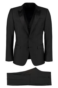 Three-pieces wool suit, Suits Dolce & Gabbana man
