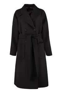 Virgin wool double-breasted coat, Double Breasted Dolce & Gabbana woman