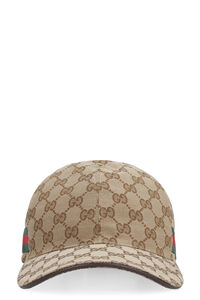 Berretto da baseball con logo all over, Cappelli Gucci woman